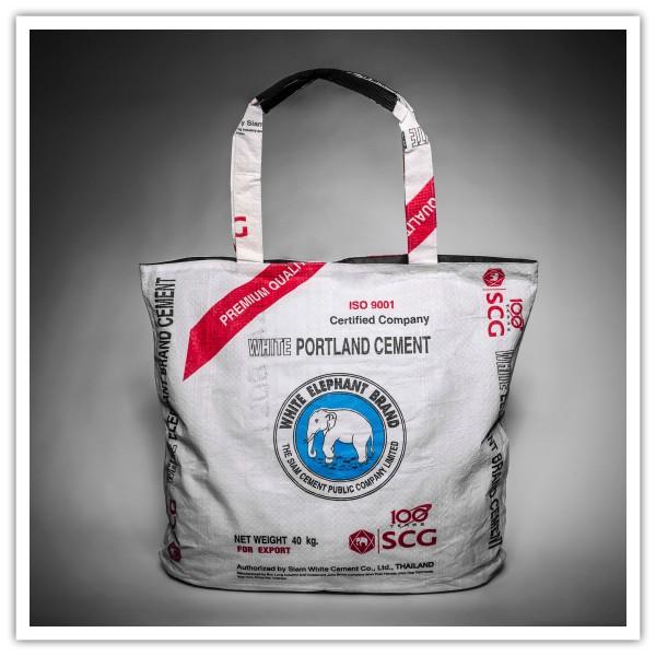 Recyclingtasche Shopper Beach Blue