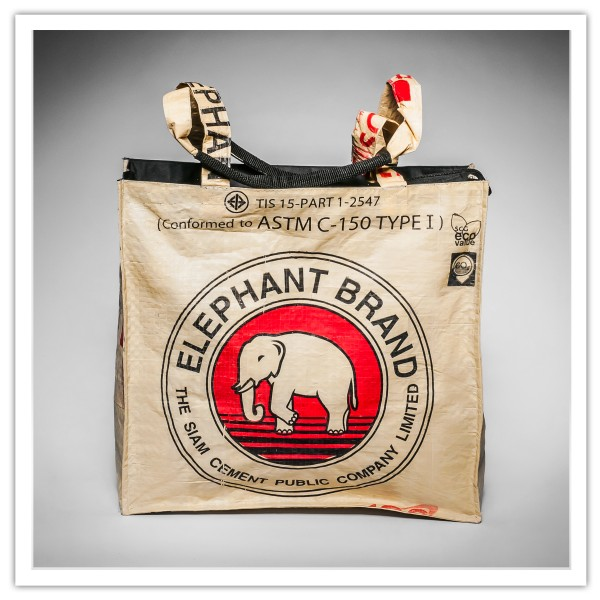 Recyclingtasche Shopper Red
