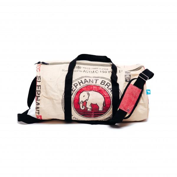 Recyclingtasche Weekender M Red