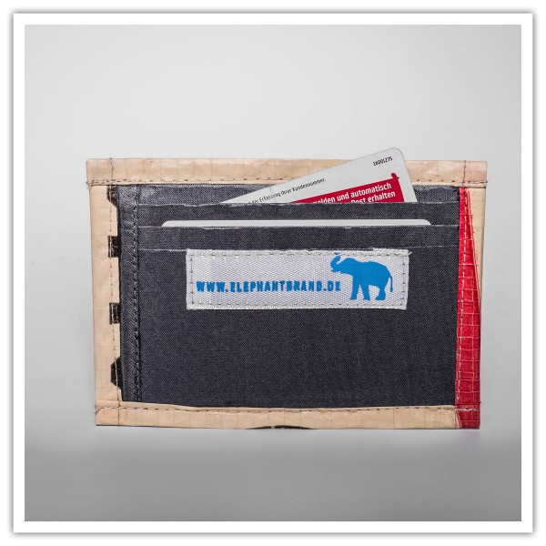 Recyclingtasche Cardholder Red