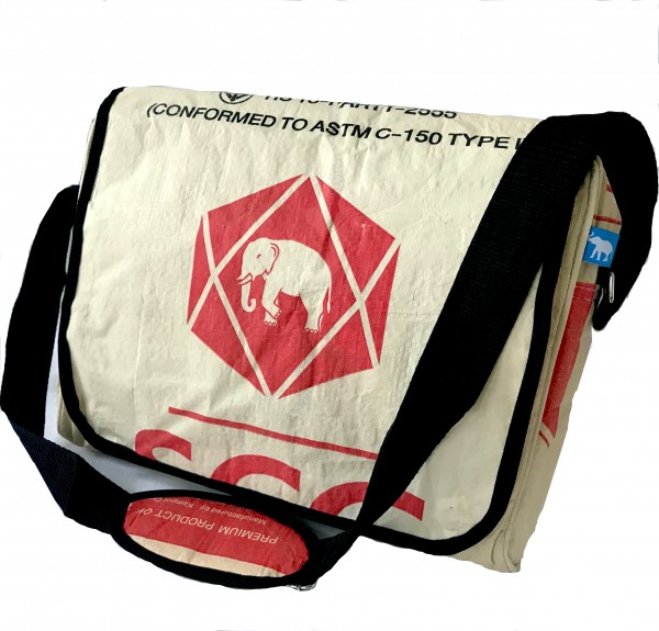 Recyclingtasche Carrier Ring Red