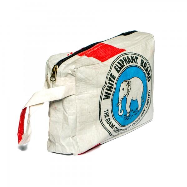 Recyclingtasche Kulturbeutel Blue