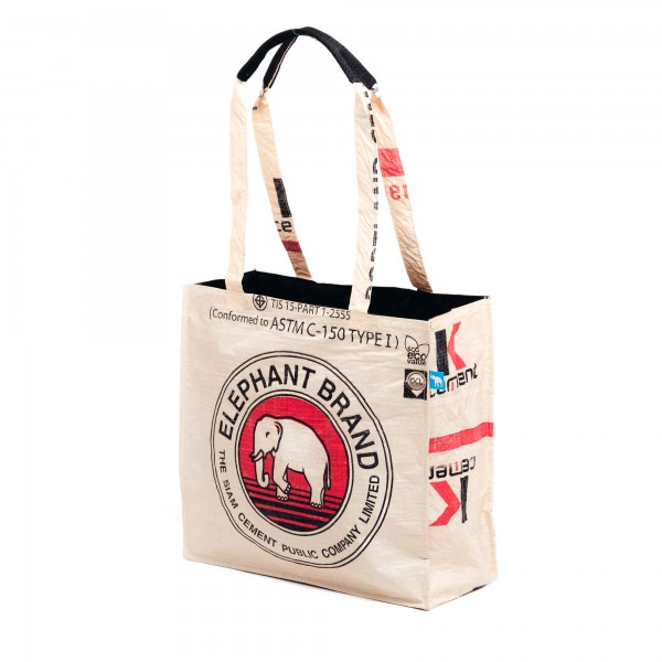 Recyclingtasche Shopper Red