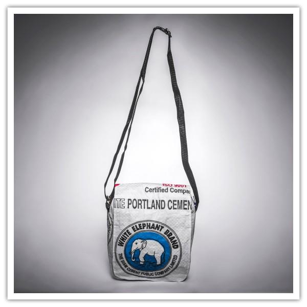 Recyclingtasche Square Blue