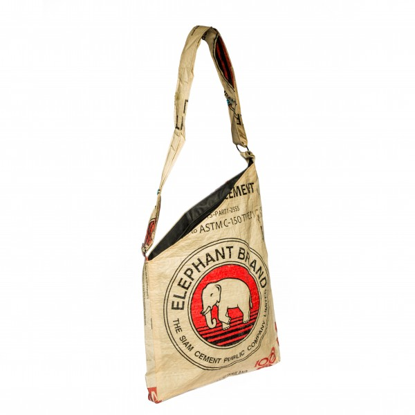 Recyclingtasche Shopper Cut Red