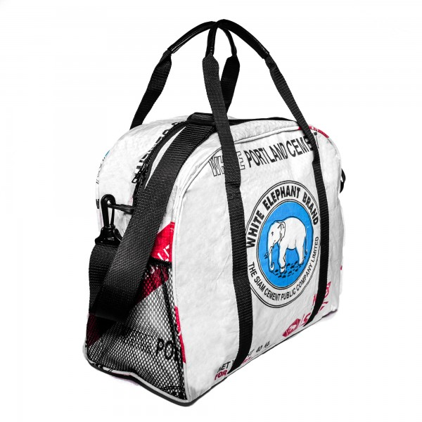 Recyclingtasche Messenger Blue