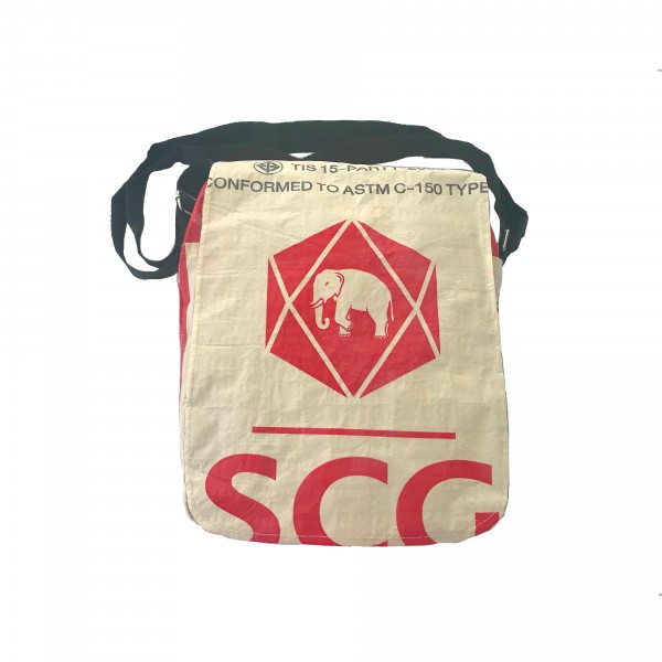 Recyclingtasche Square Red