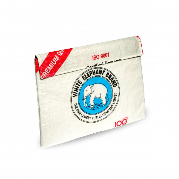 Recyclingtasche Klett-toptasche Blue